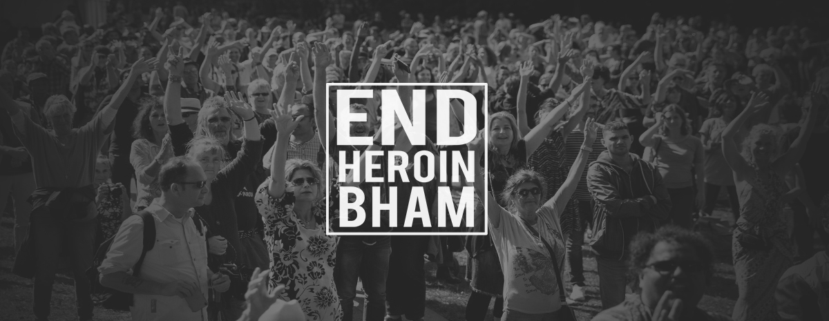 END HEROIN BHAM WALK 2018